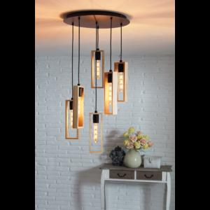 EGLO Vintage hanging lamp LITTLETON 49549