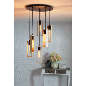 EGLO Vintage hanglamp  LITTLETON 49549