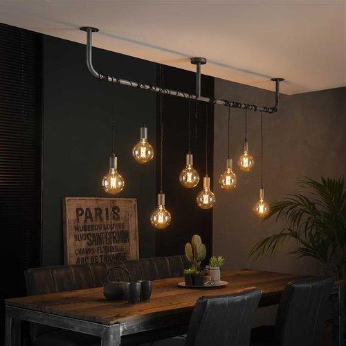 LioLights Vintage Hanglamp 8L wikkel