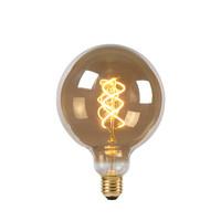 Ampoule LED - Lampe à filament - Ø 12,5 cm - LED Dimb. - E27 - 1x5W 2200K - Fumé