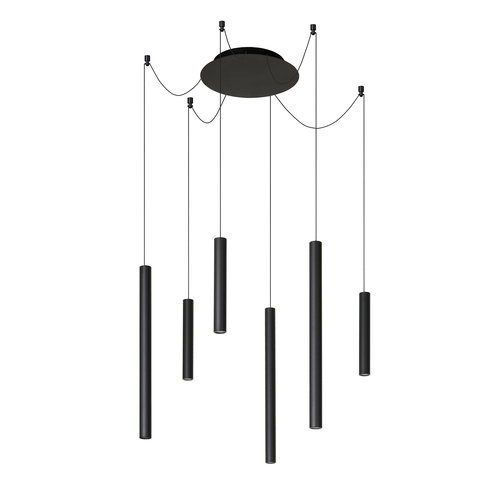 Lucide LORENZ - Lampe à suspension - LED Dimb. - 6x4W 3000K