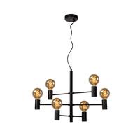 LEANNE - Hanglamp - 6xE27 - Zwart - 21421/06/30