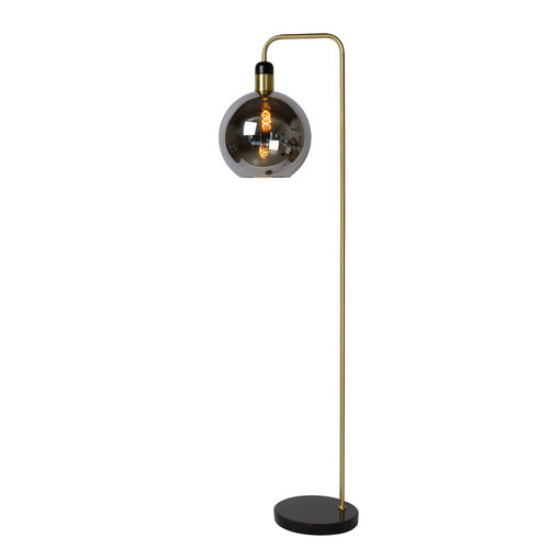 Lucide JULIUS - Floor lamp - E27 - Fumé
