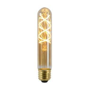 Lucide Ampoule LED - Lampe à filament - Ø 3 cm - Dimb. LED - E27 - 1x5W 2200K - Ambre