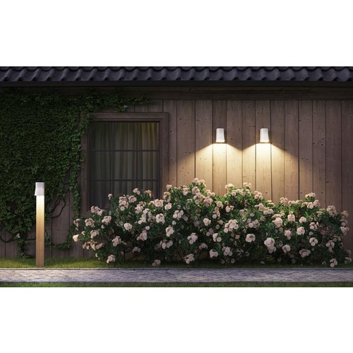 Royal Botania Beacon garden pole Teak - Porcelain