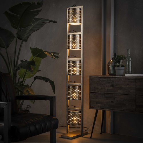 LioLights 5xØ18 perforated floor lamp