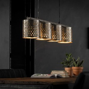 LioLights Hanging lamp 4xØ18 perforated