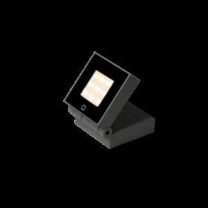 Wever & Ducré Applique X-Beam 2.0 LED Gris foncé IP65 Extérieur