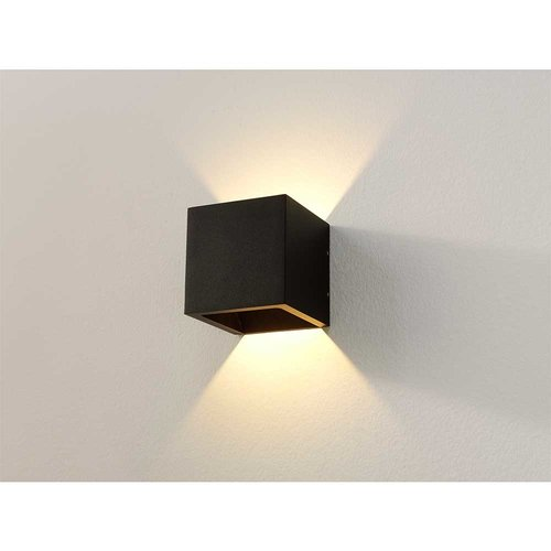 LioLights LED Wandlamp WL Cube IP54