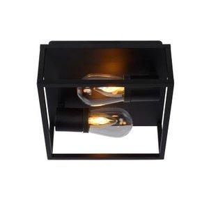 Lucide CARLYN - Ceiling Light Bathroom - E14 - IP54 - Black