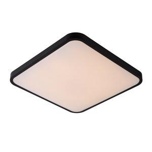 Lucide POLARIS - Plafonnier - LED dim. Tiède - 1x40W 4000K / 2700K - Noir
