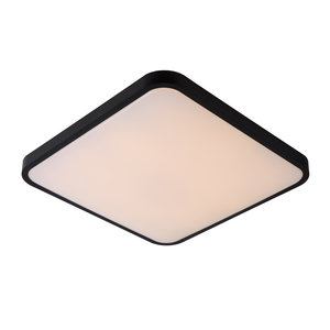 Lucide POLARIS - Plafonnière - LED Dim to warm - 1x40W 4000K/2700K - Zwart