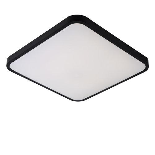 Lucide POLARIS - Plafonnière - LED Dim to warm - 1x40W 4000K/2700K - Zwart