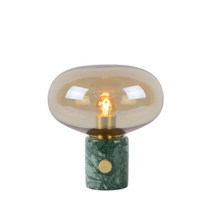 Lucide CHARLIZE - Tafellamp - Ø 23 cm - E27 - Amber - 03520/01/62
