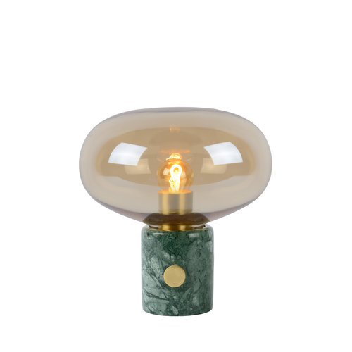 Lucide CHARLIZE - Table lamp - Ø 23 cm - E27 - Amber