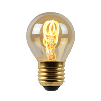 LED Bulb - Filament lamp - LED Dimb. - E27 - 1x3W 2200K - Amber