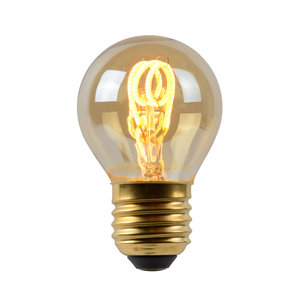 Lucide LED Bulb - Filament lamp - LED Dimb. - E27 - 1x3W 2200K - Amber