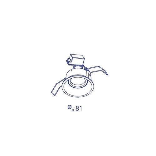 Inbouwspot Orbit borderline GU10
