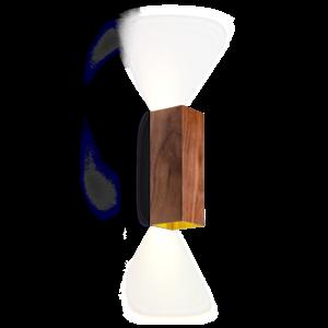 Wever & Ducré Wall lamp Box MINI 2.0 PAR16 Walnut