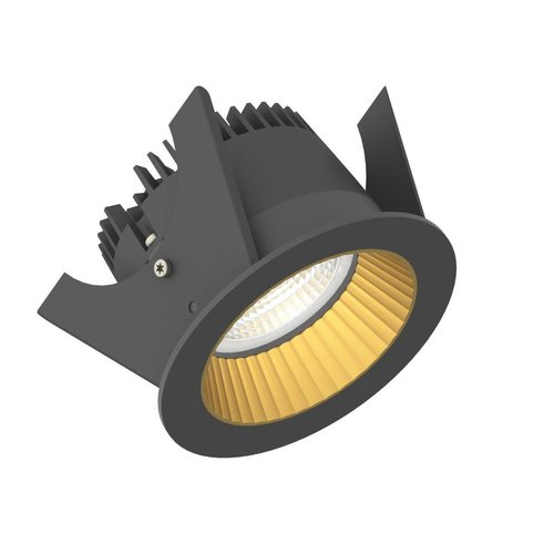 Illuxtron LED Recessed spot Omega 75 HV-IC 24º 700Lm Dimmable