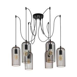 EGLO Vintage hanglamp ROCCAMENA 49643