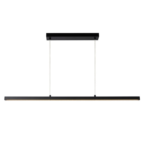 Lucide SIGMA - Hanging lamp - LED Dimb. - 1x30W 2700K - Black - 23461/30/30