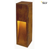 Led bollard Rusty Slot 50/70 Rust brown
