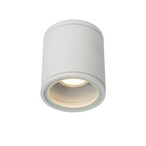 Lucide AVEN - Ceiling spotlight Bathroom - Ø 9 cm - GU10 - IP65 - White