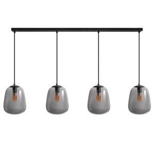 ETH Hanglamp Benn 4 lichts - zwart - 120/8cm - 05-HL4383-30