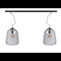 Lampe suspendue Benn 2 - noir - 120 / 8cm - 05-HL4478-30