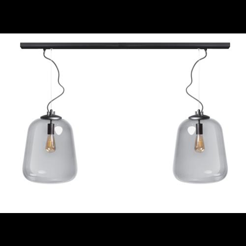 ETH Benn 2 hanging lamp - black - 120 / 8cm - 05-HL4478-30