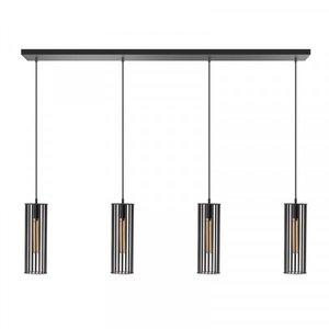 ETH Hanglamp Birdy 4 lichts - zwart - 130/8cm - 05-HL4188-30