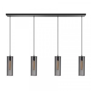 ETH Lampe suspendue Birdy 4 lumières - noir - 130 / 8cm - 05-HL4188-30