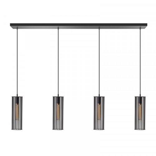 ETH Birdy hanging lamp 4 lights - black - 130 / 8cm - 05-HL4188-30