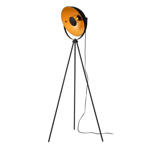 Lucide ALVARO - Floor lamp - E27 - Black - 05730/01/30