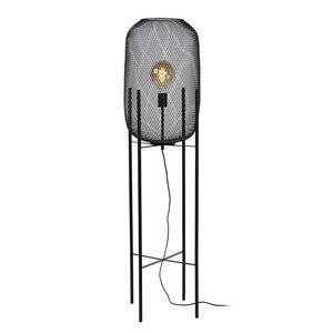 Lucide MESH - LED Vloerlamp - Ø 35 cm - E27 - Zwart - 45785/01/30
