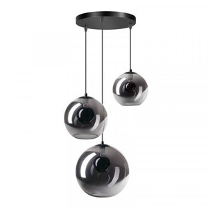 ETH Hanglamp Orb - 3 lichts - zwart - 05-HL4265-3036