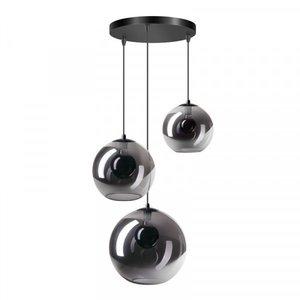 ETH Lampe à suspension Orb - 3 lampes - noir - 05-HL4265-3036