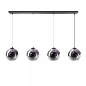 ETH Lampe à suspension Orb - 4 lumières - noir - 05-HL4267-3036