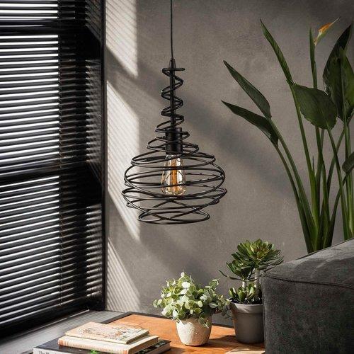 LioLights Vintage hanging lamp 1x Ø25 cone spinn