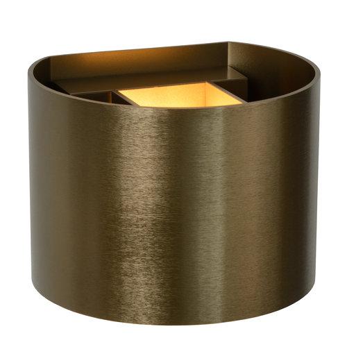 Lucide XIO - Wall spot - LED Dimb. - G9 - 1x3.5W 2700K - Rust brown