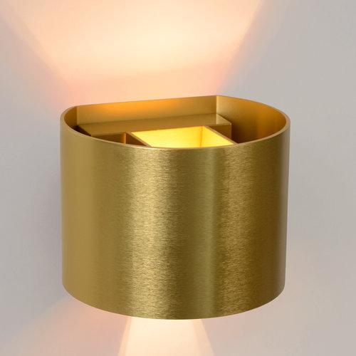 Lucide XIO - Wall spot - LED Dimb. - G9 - 1x3.5W 2700K - Rust brown - Copy
