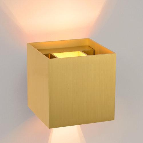 Lucide XIO - Wall spot - LED Dimb. - G9 - 1x3.5W 2700K - Matte Gold - 09217/04/02