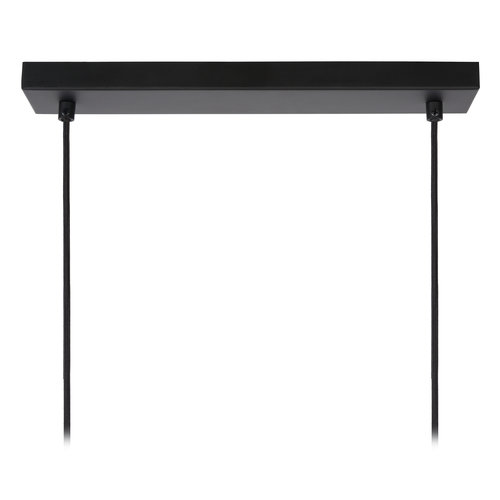 LioLights DOUNIA - Hanging lamp - E27 - Black - 78394/03/30