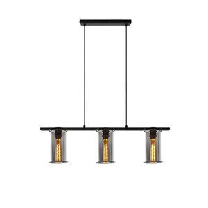 LioLights DOUNIA - Hanglamp - E27 - Zwart - 78394/03/30