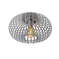 MANUELA - Ceiling light - Ø 40 cm - E27 - Gray - 78174/40/36