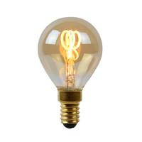 LED Bulb - Filament lamp - Ø 4.5 cm - LED Dimb. - E14 - 1x3W 2200K - Amber