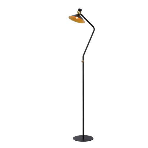 Lucide PEPIN - Floor lamp - Ø 23 cm - E14 - 3 StepDim - Black - 05728/01/30