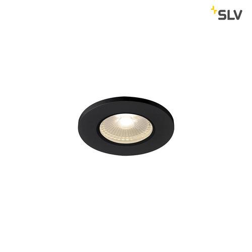 Spot LED encastrable Kamuela ECO noir IP65