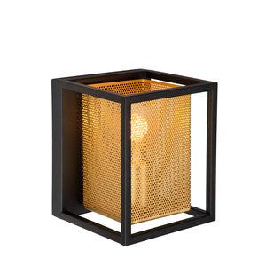 Lucide SANSA - Wandlamp - E27 - Zwart - 21222/01/30